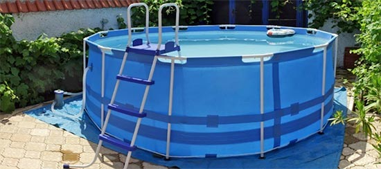 Piscinas pvc baratas materiales de construcci n para la for Piscinas desmontables baratas intex