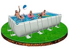 comprar piscina desmontable rectancular