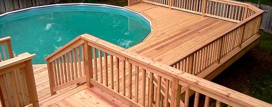 Cubiertas de piscinas baratas awesome calentar agua - Piscinas de madera baratas ...