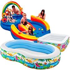 Piscinas infantiles hinchables para ni os y beb s cu l for Piscinas de bolas para bebes